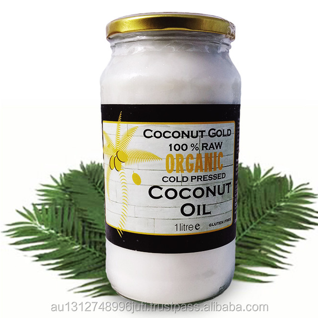 Certified ORGANIC. RAW. COLD PRESSED. Coconut Gold - Coconut Oil