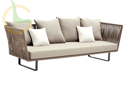 Modern queen size white daybed with canopy