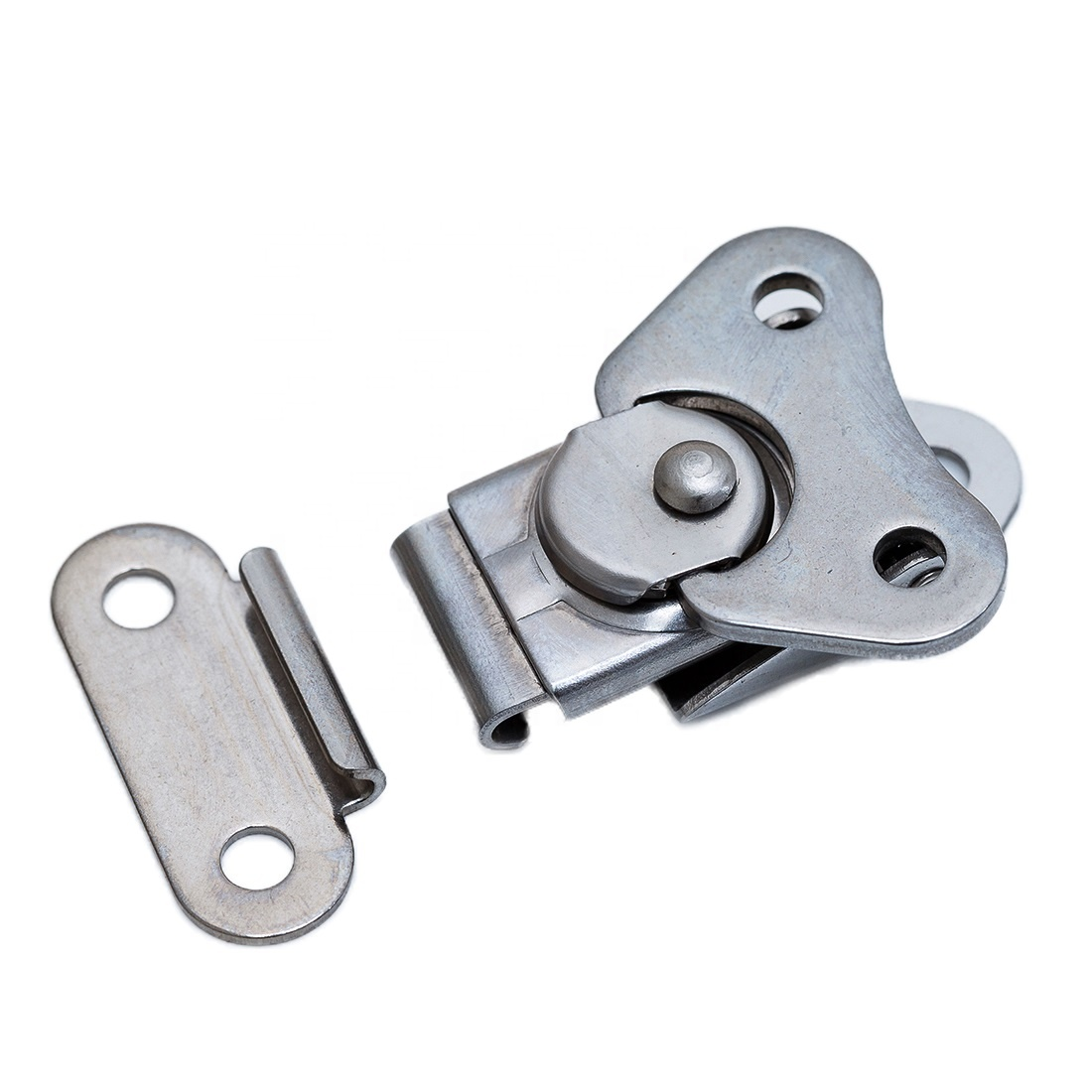 TS-153-SUS- Surface Mount Twist Toggle Lock Flight Recessed Stainless Steel Case Latch And <strong>Hardware</strong>