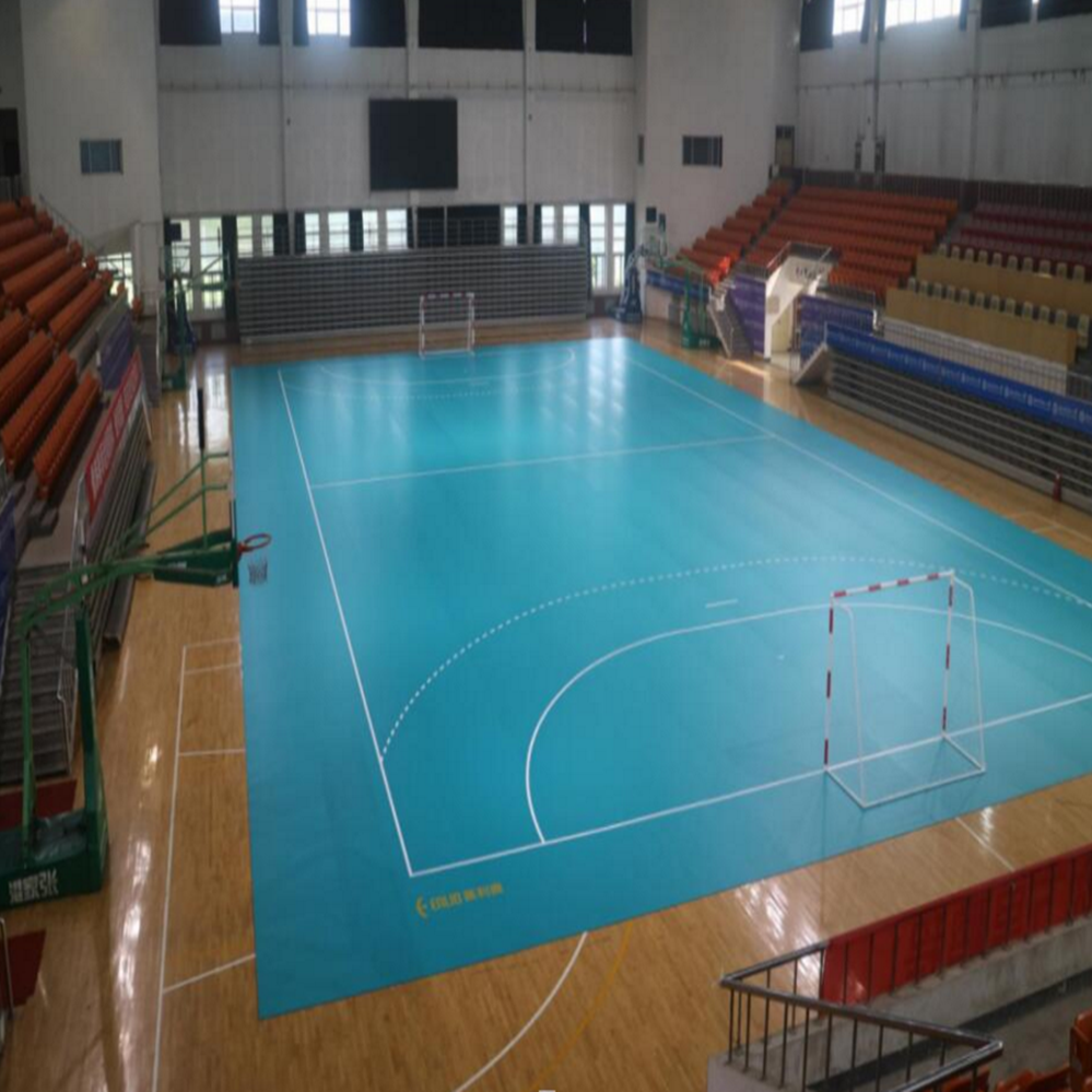 Indoor PVC synthetic sports flooring for handball