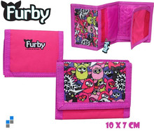 Wallet 10x7cm Furby for kids