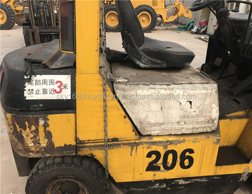 used tcm forklift 2.5t/tcm secondhand 2.5t with good condition/ cheap price made in japan