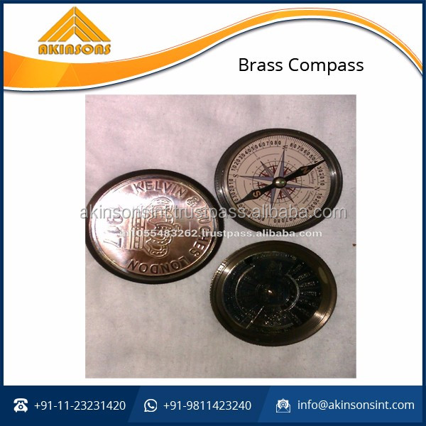 Premium Quality, Precise Brass Compass at Reasonable Price