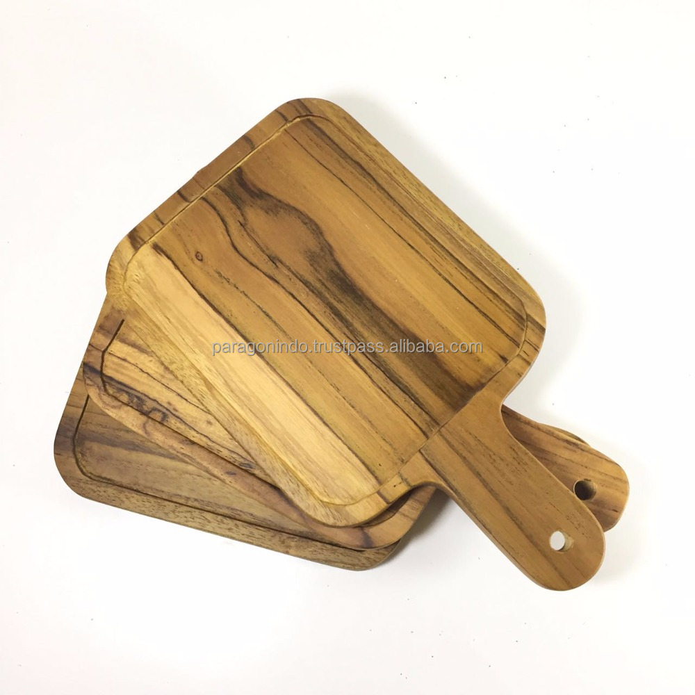 Wooden Serving Tray for food or coffee