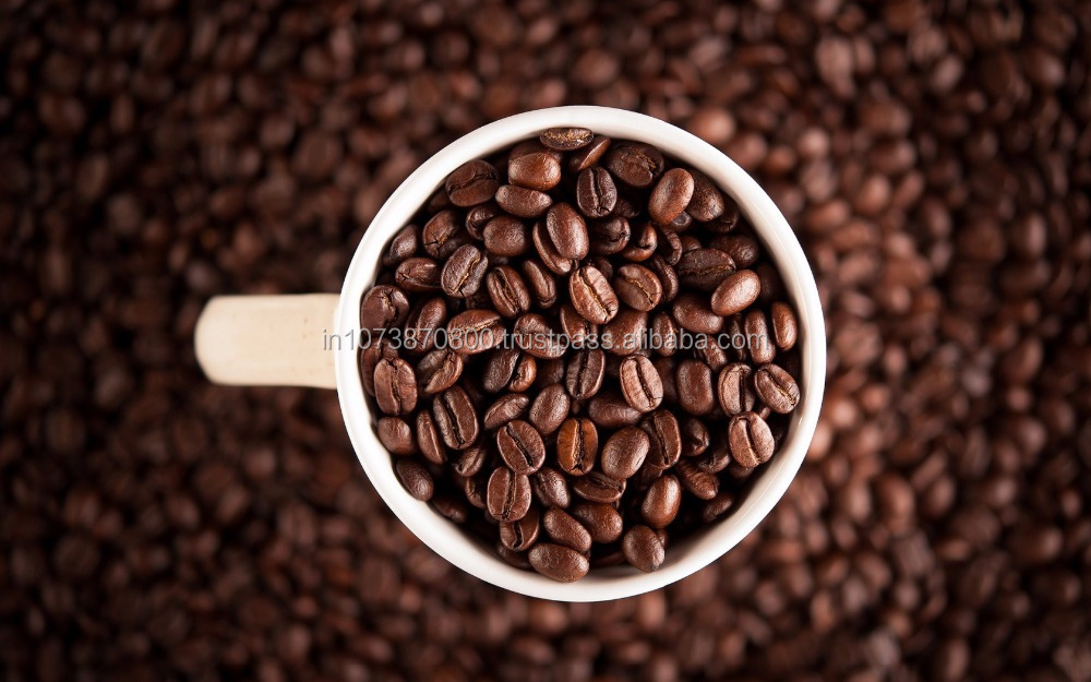 Organic coffee beans Arabica and Robusta FOR European all countries