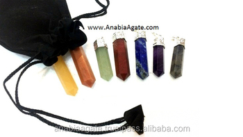 Chakra Double Terminated Pencil Set With Poch