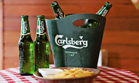 Carlsberg and Carlsberg Export Beer Available