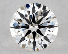 0.33 Ct. Round Shape Loose Natural Diamond H SI1 GIA