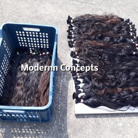 No Chemical Double Weft Curly Hair Tangle Free Top Grade 100% brazilian human hair extensions