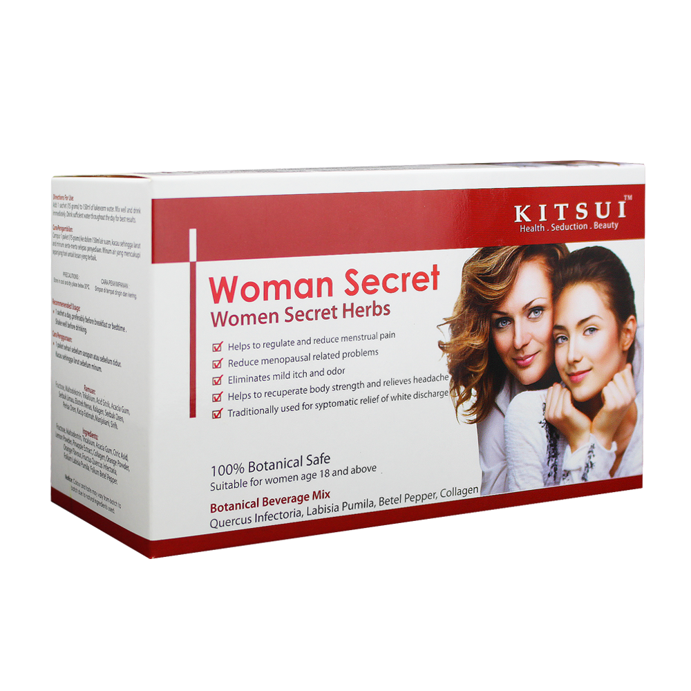 Women Secret Herb for Healthy and Beauty Drink Collagen