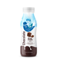 Standard for export chocolate milk pack in PET 350ml