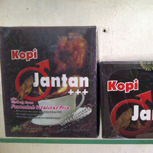 Kopi Jantan Coffee Plus Korean Ginseng Tongkat Ali / Longjack / Pasak bumi Root Extract