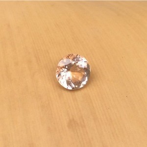 AAA quality Excellent Polished Morganite round cut loose gemstone