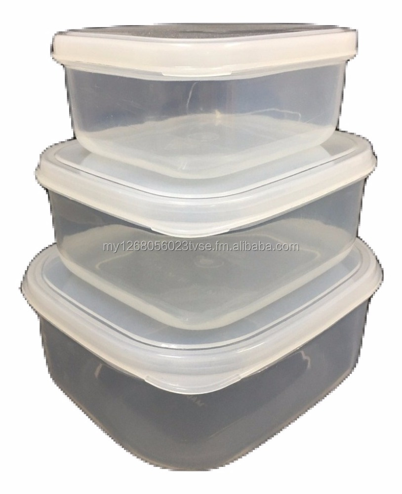 Transparent Foods Containers / Lunch Box