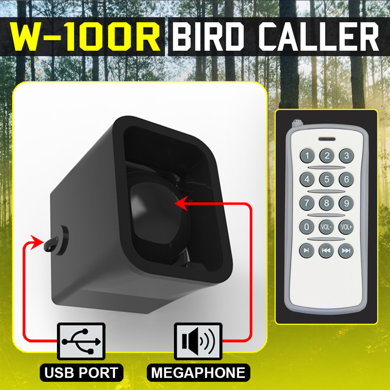 Bird Hunting Device with Remote Control