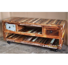 Latest Vintage Rustic Industrial Reclaimed & Recycled Furniture Design by JODHPUR TRENDS Furniture INDIA