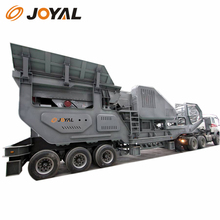JOYAL China very popular mini mobile stone crusher plant