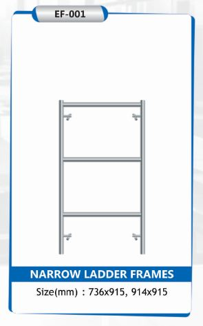 Narrow Ladder Frames