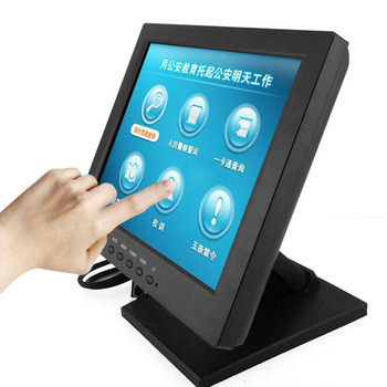 Resistive TFT LCD Duration 50000hours 10 inch touch screen monitor