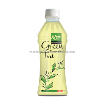 Wholesaler 350ml pet bottle green tea drink