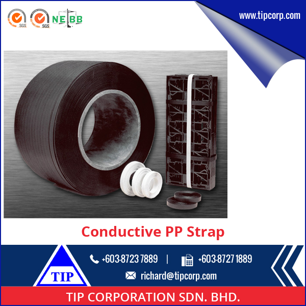 Conductive PP Strap Plastic Box Strapping Packing Strap