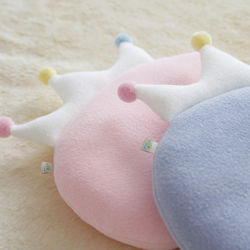 High quality bamboo cloth newborn baby flat head shaping pillow and cover