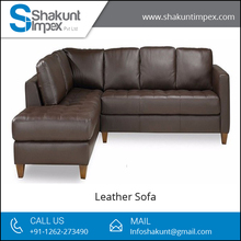 Ultimate Quality, Long Lasting Sectional Leather Sofa from Leading Manufacturer