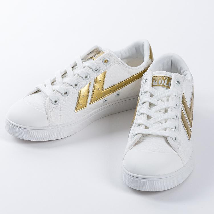 New designed oem service boys stylish casual shoes athletic shoes KOLCA1992 Barcelona White Gold