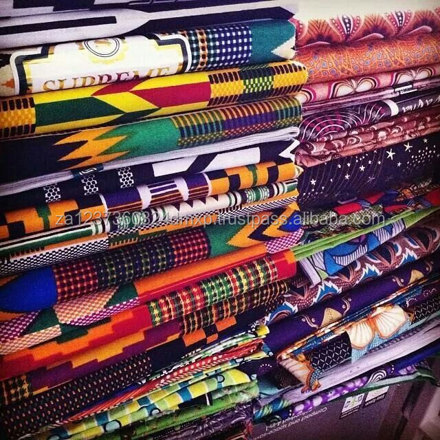 100% African java wax fabric