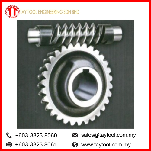 Worm Gear and Screw Jack Set