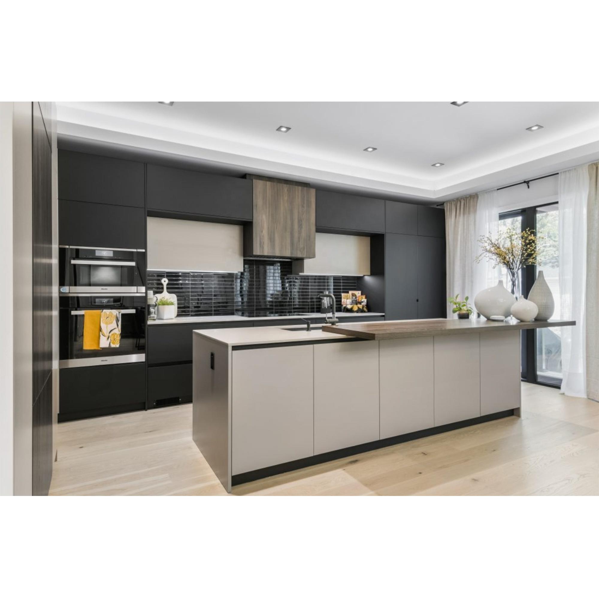 Nicocabinet New Modern Dark Light Grey Kitchen Cabinet Kitchen Furniture Modular Kitchen Buy High Quality Kitchen Design Aluminium Kitchen Cabinet