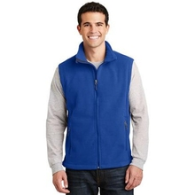 Port Authority Value Fleece Vest - 100% polyester, chin guard, front zippered pockets and comes with your logo