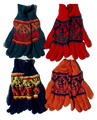 Gloves Winter Colored Alpaca Wool Men's Women's Hot Warm Peruvian Handwoven Dress