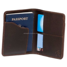 2018 OEM Customized PU Passport Holder Cover