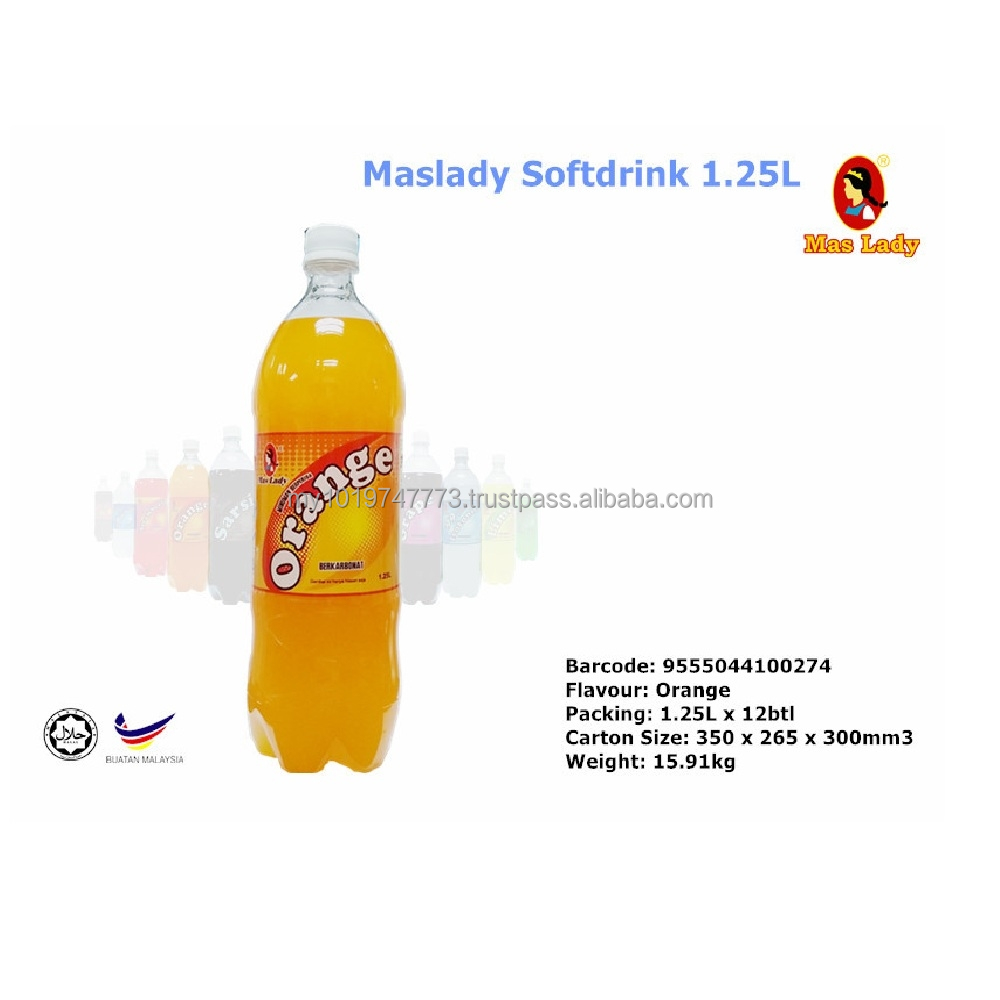 Maslady carbonate drink - ORANGE