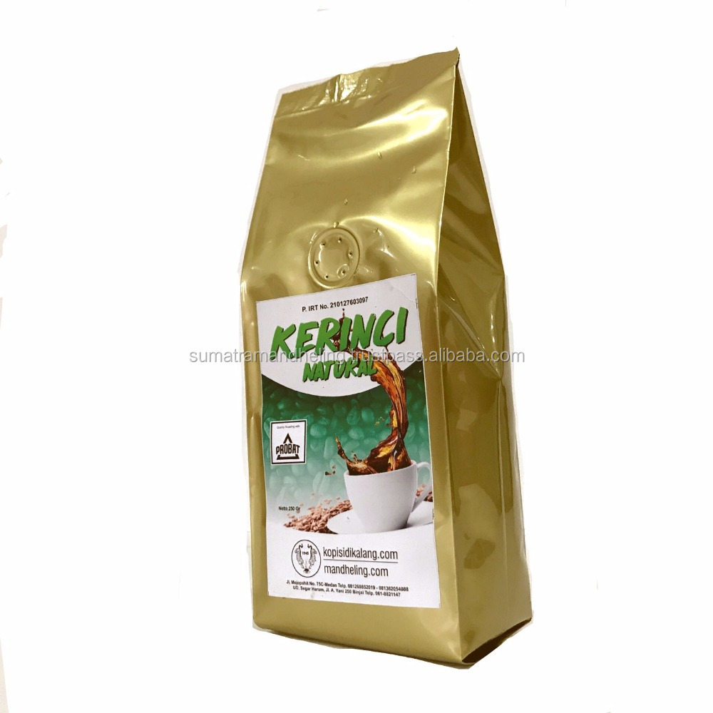 Kerinci Natural Premium Arabica Coffee Wine Aroma