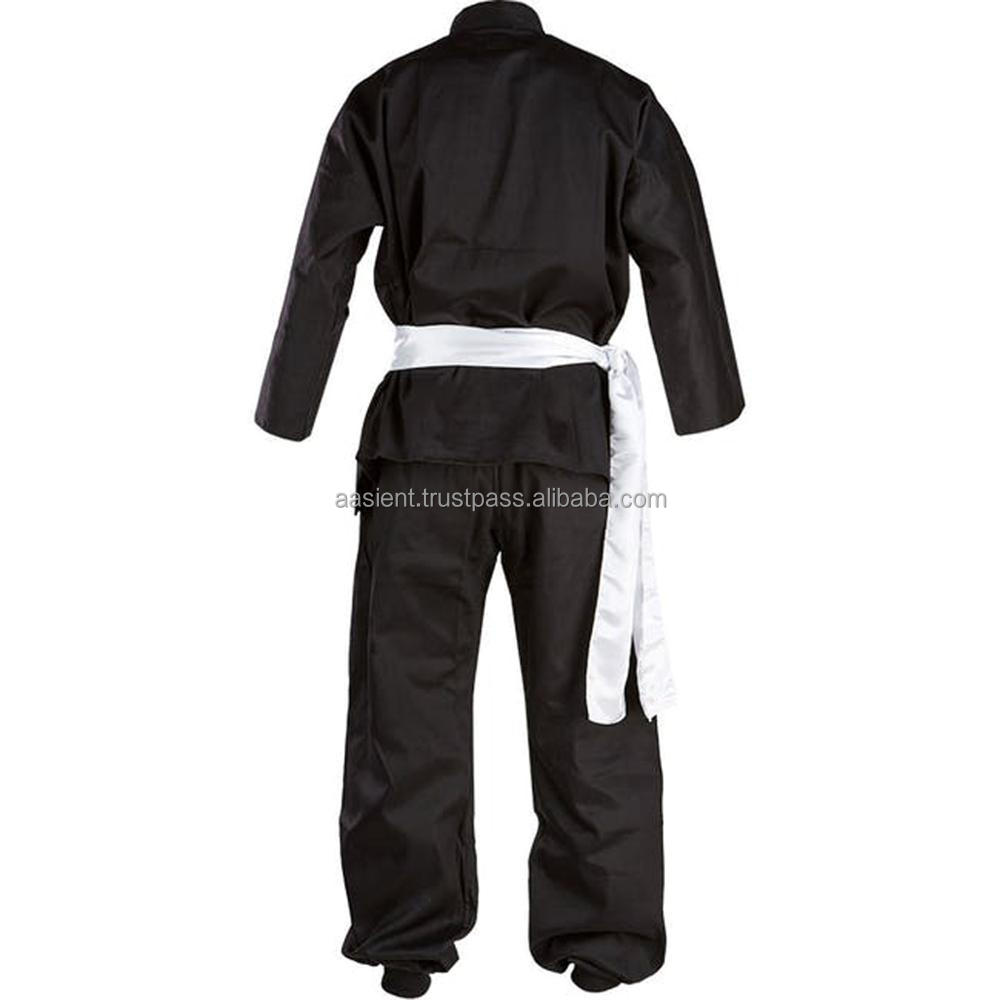 New Kung Fu Martial Arts Uniform Clothes Suit Black In High Quality