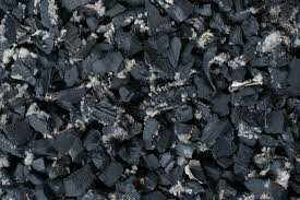 100% Rubber recycled granules