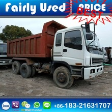 Used 6x4 Isuzu Dump Truck 25-30 ton for sale