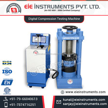 ISO Certified High Strength Long Lasting Digital Compression Testing Machine