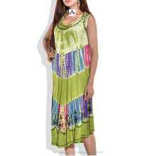INDIAN UMBRELLA TIE DYE DRESS