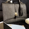 Tote Woman Bag Snake Skin Korean Fashion Satchel Bag
