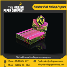 Custom Design Pink Colored Cigarette Rolling Paper at Wholesale Price