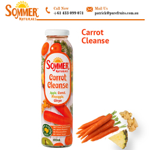 Body Cleanser Natural and Fresh Carrot Juice in 300ml Bottle