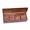 Wholesale 3 Compartments Wooden Tea Box