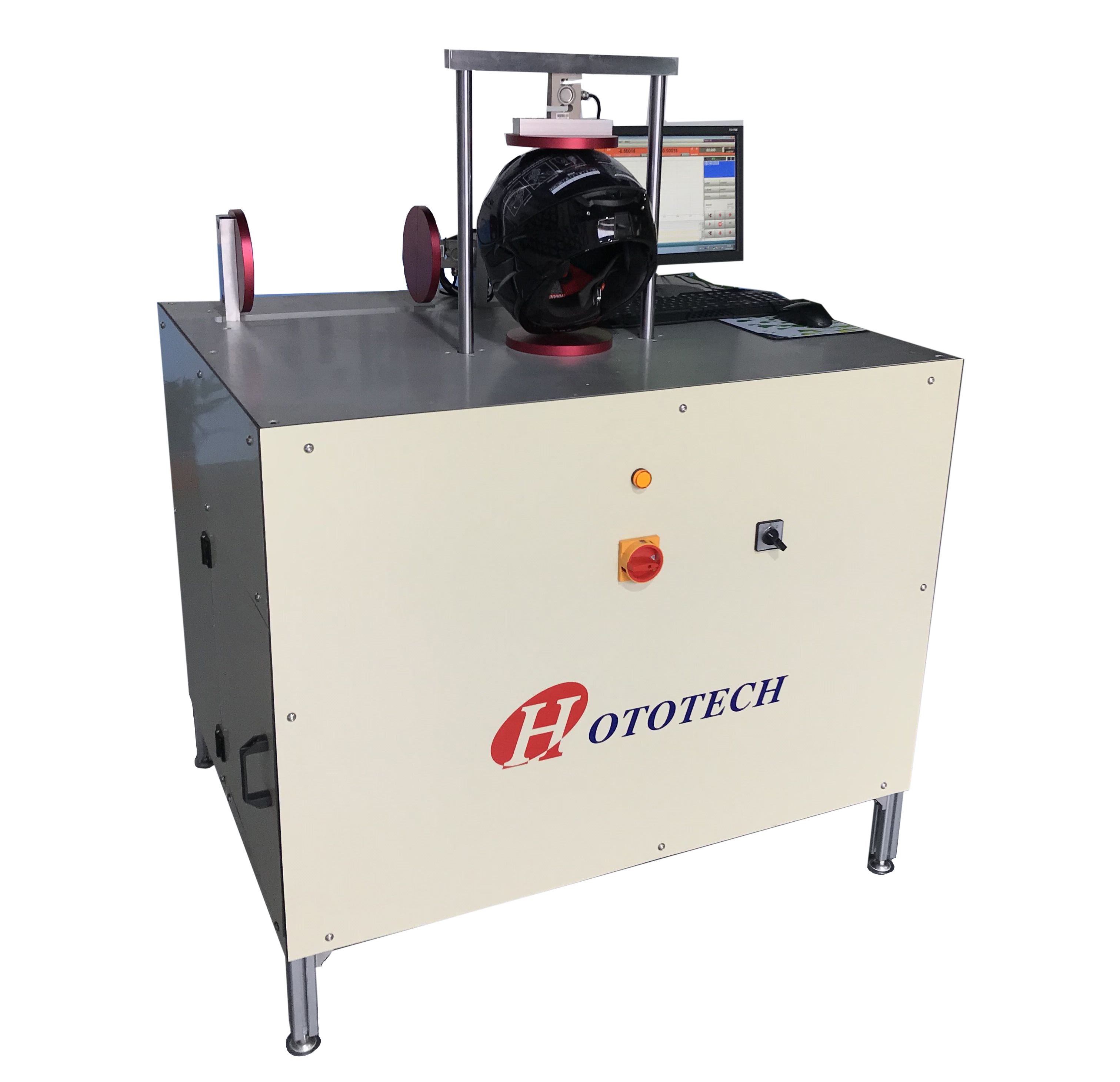 ECE R22.05 Helmet Rigidity Test Machine / helmet testing machine / testing equipment