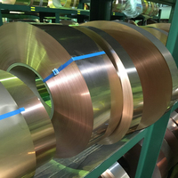 High Tensile Strength Copper Strip Plated For Sale C64770 Use For Various Plating