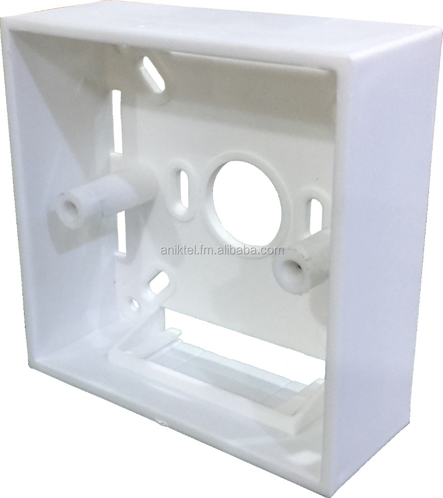 Electrical 1 Way Switch Box / Electrical Plastic Box