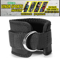 ANKLE D-RING STRAP THIGH PULLEY LIFTING PADDED MULTI GYM BANDAGE ANKLE STRAPS