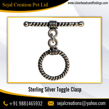 Wholesale Sterling Silver Unique Jewelry Toggle Clasps